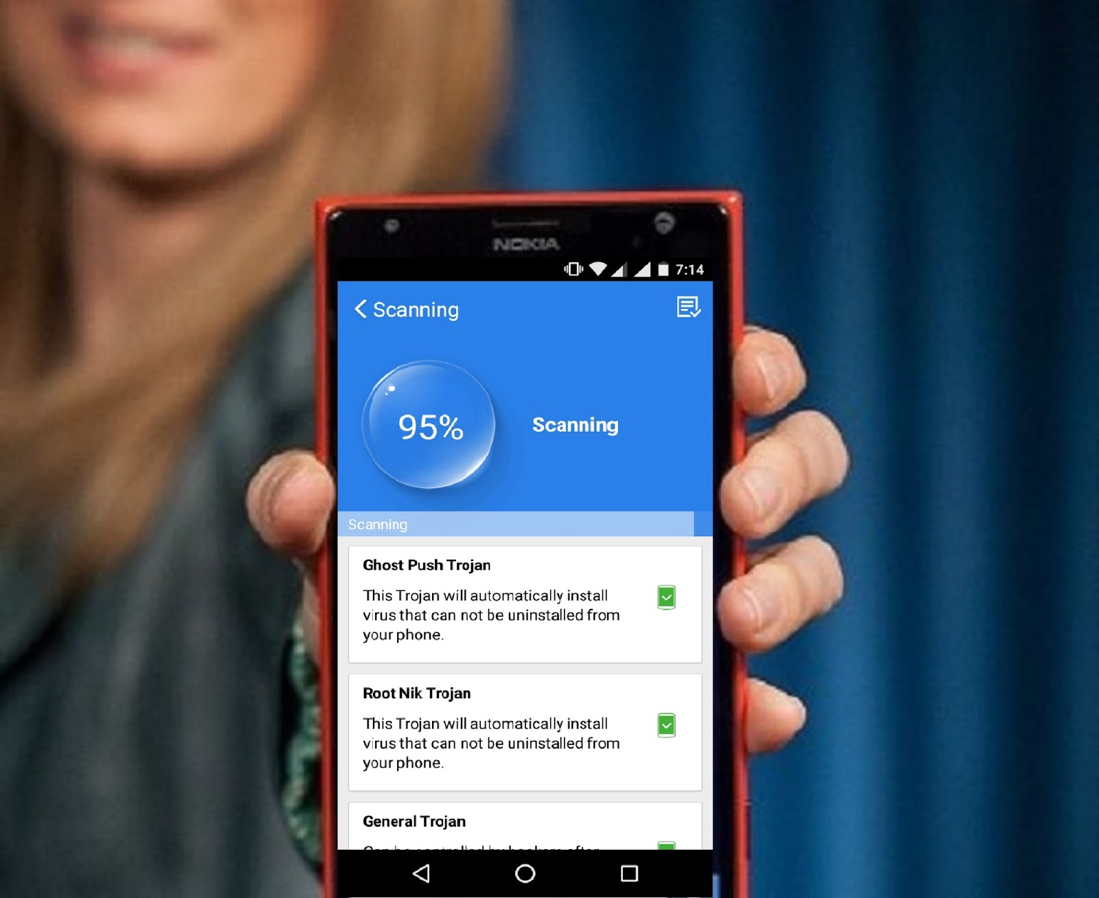 how to remove virus from android phone manually