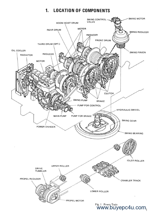 ingersoll rand telehandler parts manual